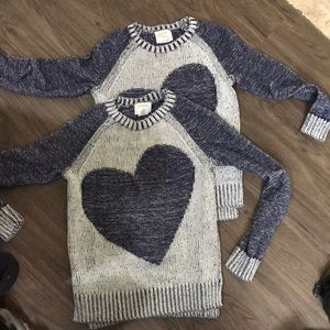 Crewcuts girls 100% cotton sweater